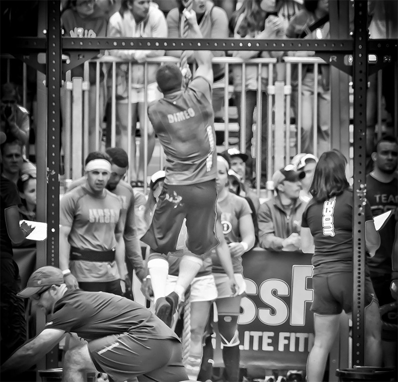Carlo competes in CrossFit Regionals